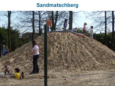 Sandmatschberg im Eichenwäldchen