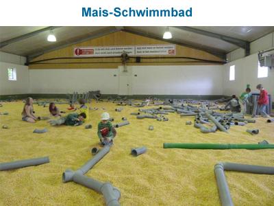Mais-Schwimmbad