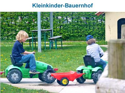 Kleinkinder-Bauerndorf