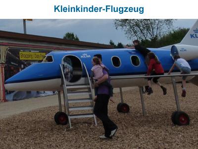 Kleinkinder-Flugzeug
