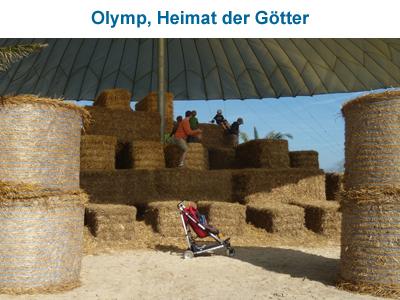 Olymp, Heimat der Götter