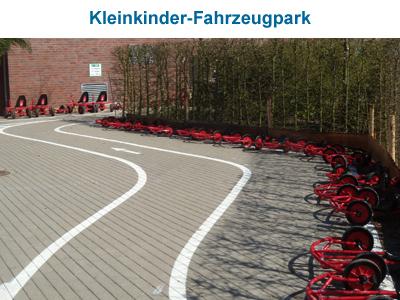 Kleinkinder Fahrzeugpark