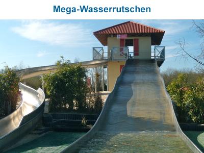 Mega-Wasserrutschen